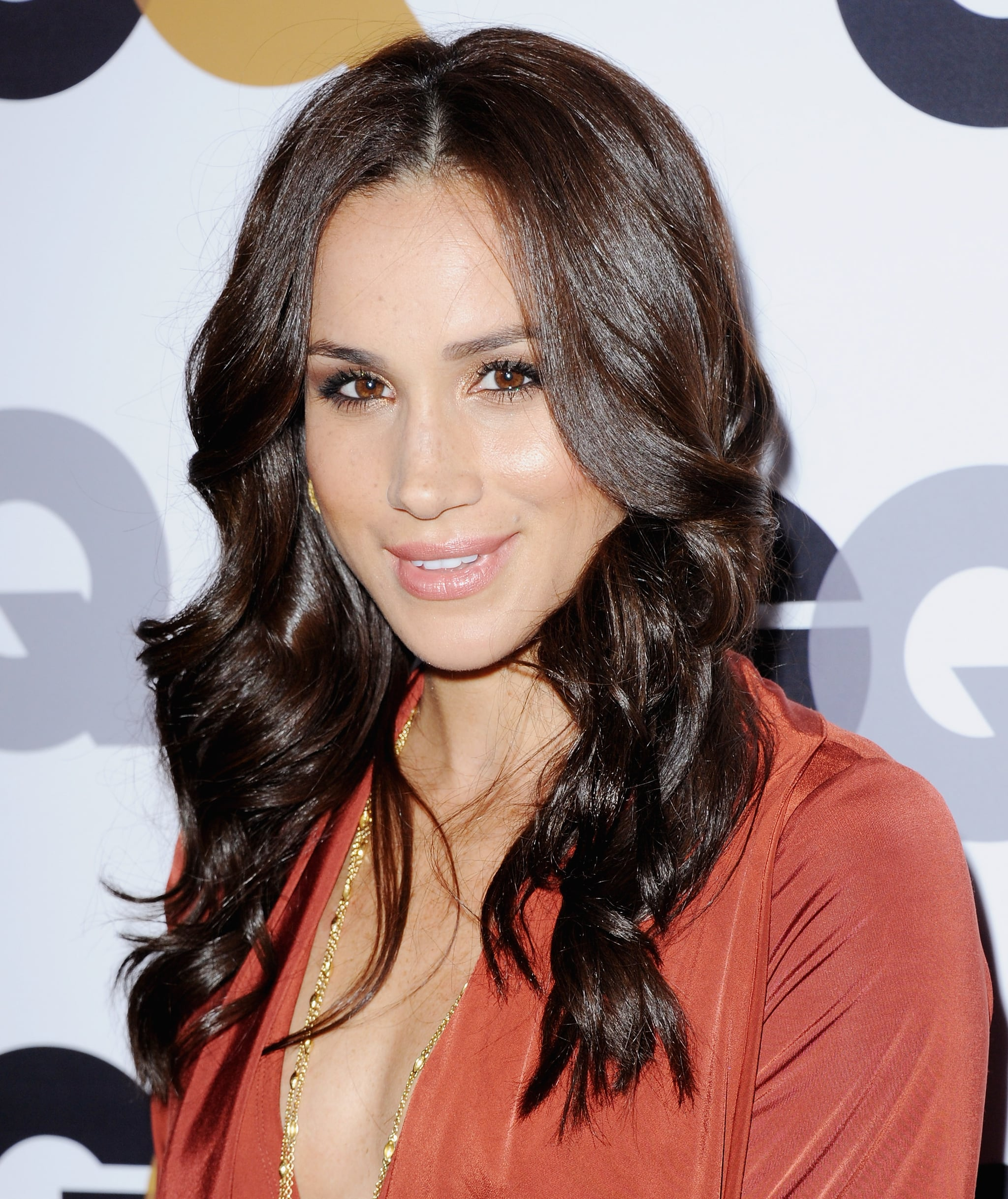 LOS ANGELES, CA - NOVEMBER 13:  Actress Meghan Markle arrives at GQ Men Of The Year Party at Chateau Marmont on November 13, 2012 in Los Angeles, California.  (Photo by Jon Kopaloff/FilmMagic)