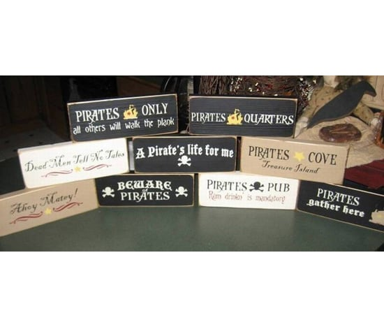 Hand-Painted Signs