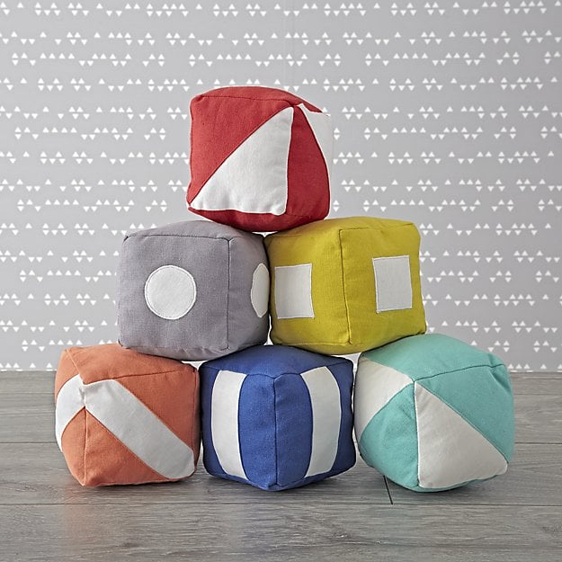 For Infants: Soft Baby Blocks