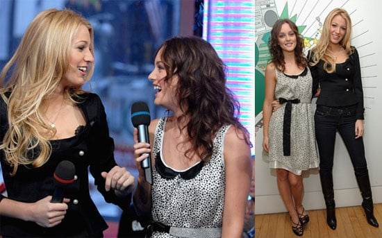 Spotted: S & B Together On TRL! XOXO, Gossip Girl
