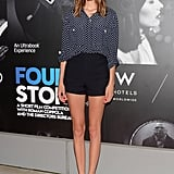Short shorts elongated Alexa's sky-high legs on the red carpet of an event in New York.