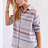 BDG Obie Flannel Button-Down Shirt