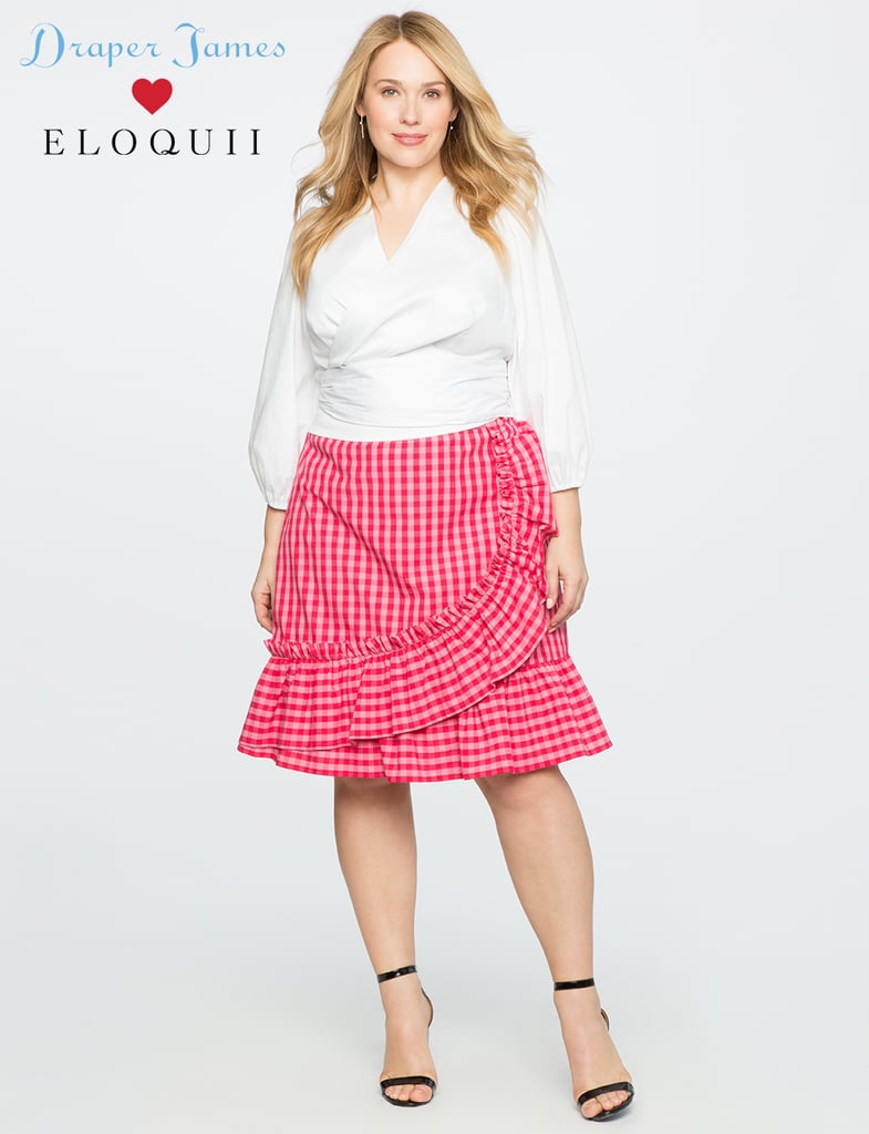 Draper James for EloquiiI Gingham Skirt