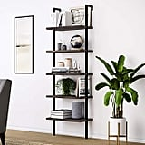Theo Wood Ladder Bookcase