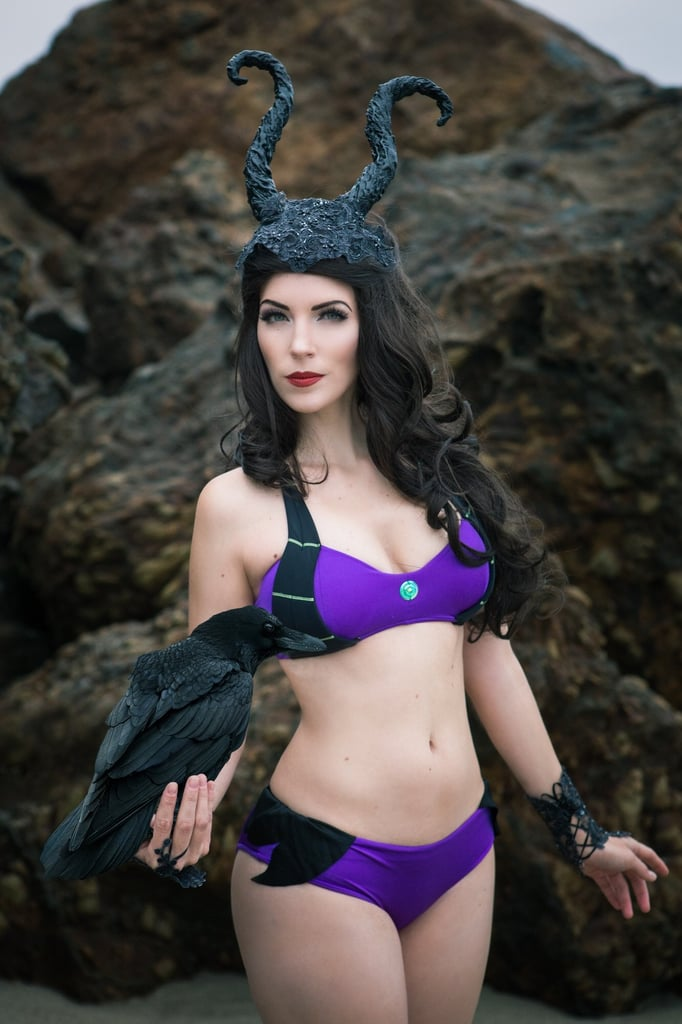 Maleficent Bikini