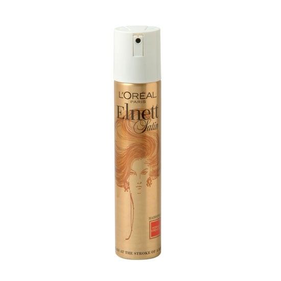 L'Oréal Paris Elnett Satin Hairspray Normal Strength, $19.95