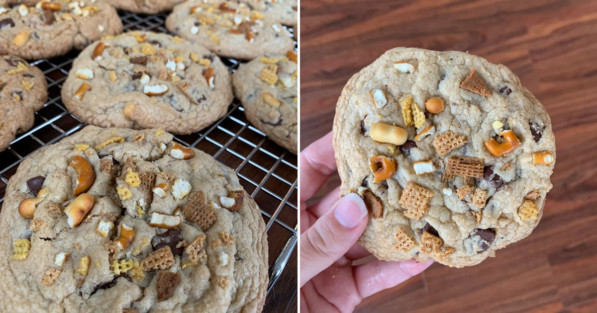 I Made Chrissy Teigen's Chex Mix Chocolate Chip Cookies, and Hello, New Obsession