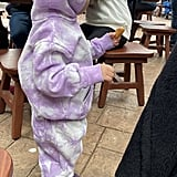 Stormi Webster Enjoying a Snack at Walt Disney World