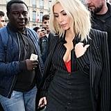 Blond Kim Kardashian