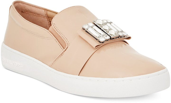 MICHAEL Michael Kors Michelle Slip-On Embellished Sneakers