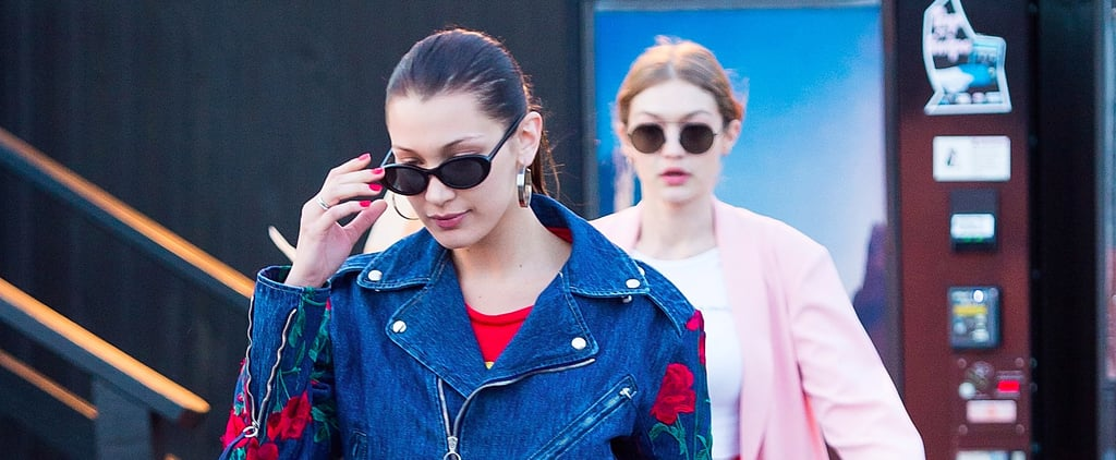 Bella Hadid Wore Her Go-To Denim Look For Sister Gigi's Birthday