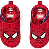 Toms Red Marvel Spider-Man Face Print Whiley Sneakers for Kids