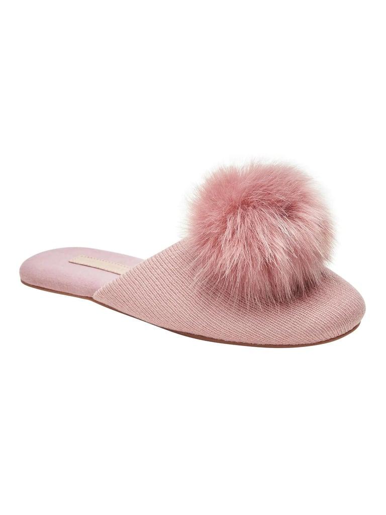 Pom Pom Indoor Slippers
