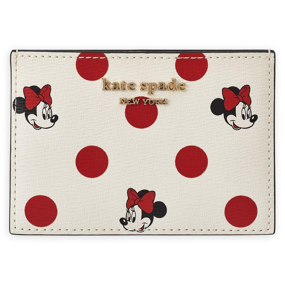 Kate Spade New York Minnie Mouse Polka Dot Card Case