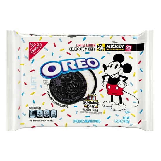 Mickey Mouse Birthday Cake Oreos