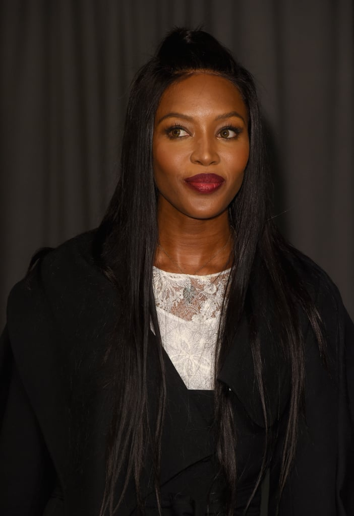 Naomi Campbell at Burberry