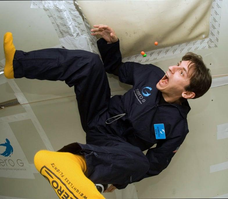Experience Zero Gravity
