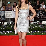 A hot silvery L'Wren Scott for the Twilight Saga: Eclipse premiere in 2010.
