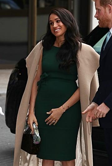 Meghan Markle Rewears Her Green Engagement Dress