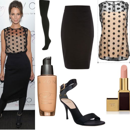 Get Christy Turlington's City-Chic Launch Look