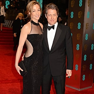 Hugh Grant and Anna Eberstein Married