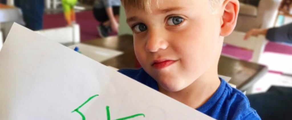 Reese Witherspoon's Son Tennessee Learning to Spell His Name
