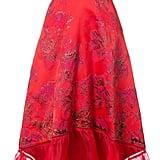 Marchesa Jacquard Gown