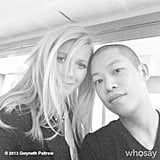 Gwyneth Paltrow joined Instagram with this stylish snap! Source: Instagram user gwynethpaltrow