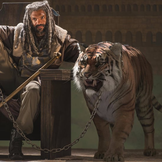 How Does The Walking Dead Create Shiva the Tiger?