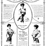 Corsets were all the rage in 1906.