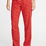 Patterned Flannel Sleep Pants