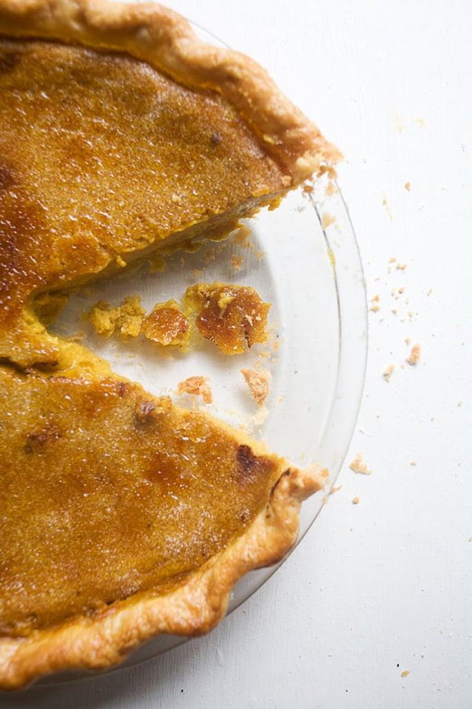 Bruléed Pumpkin Pie