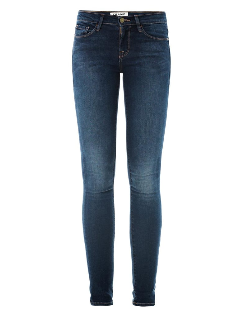 Frame Denim Le Skinny de Jeanne mid-rise jeans ($189)