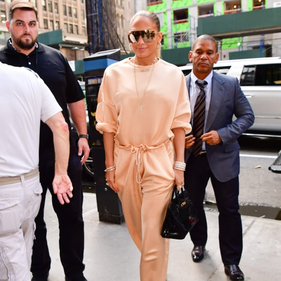 Jennifer Lopez's Sally LaPointe Sweatpants