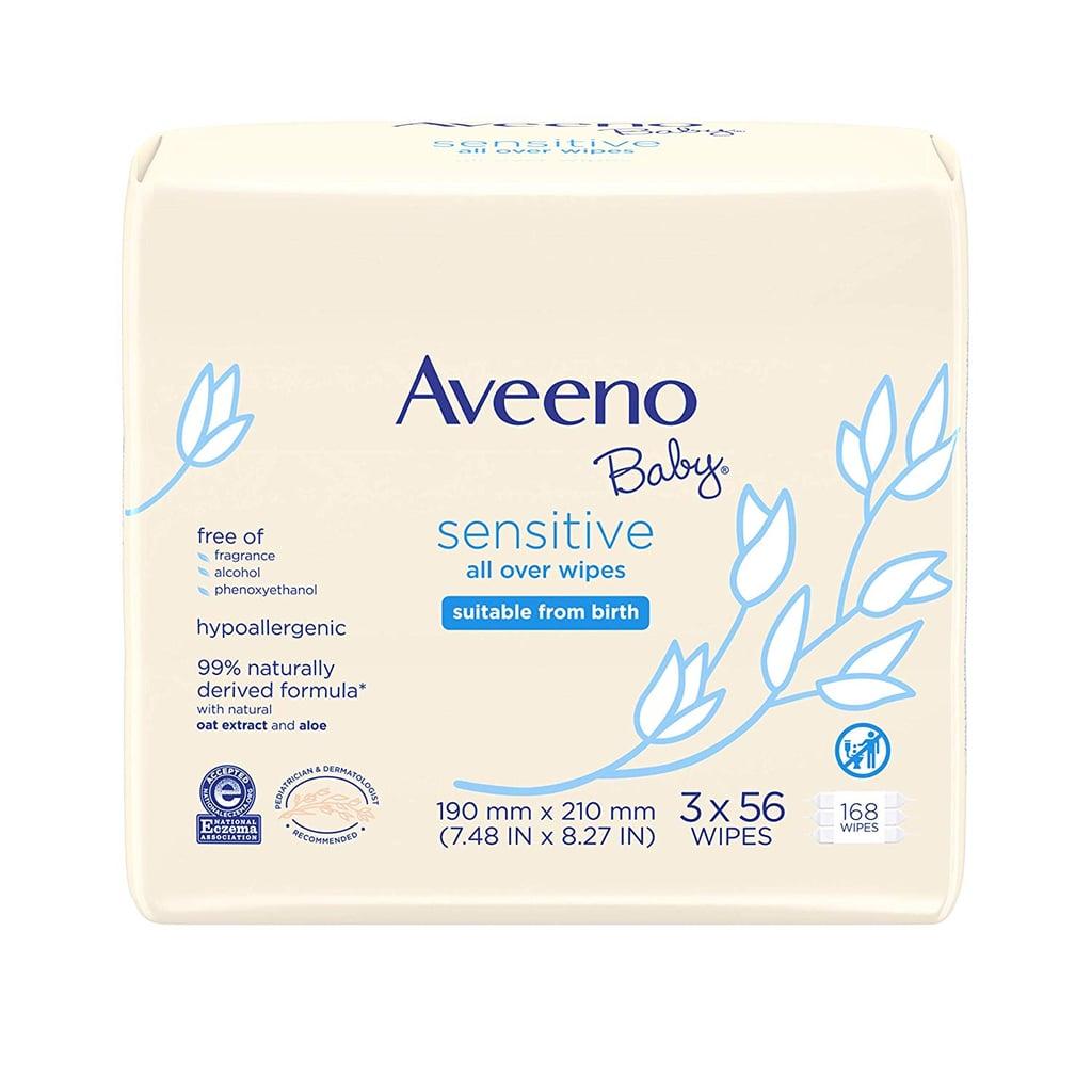 Aveeno Baby Sensitive All Over Wipes