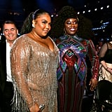 Lizzo and Yola at the 2020 Grammys