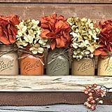 Fall Mason Canning Jars