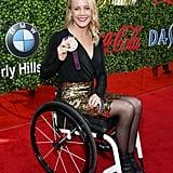 Mallory Weggemann at the 2020 Gold Meets Golden Party in LA