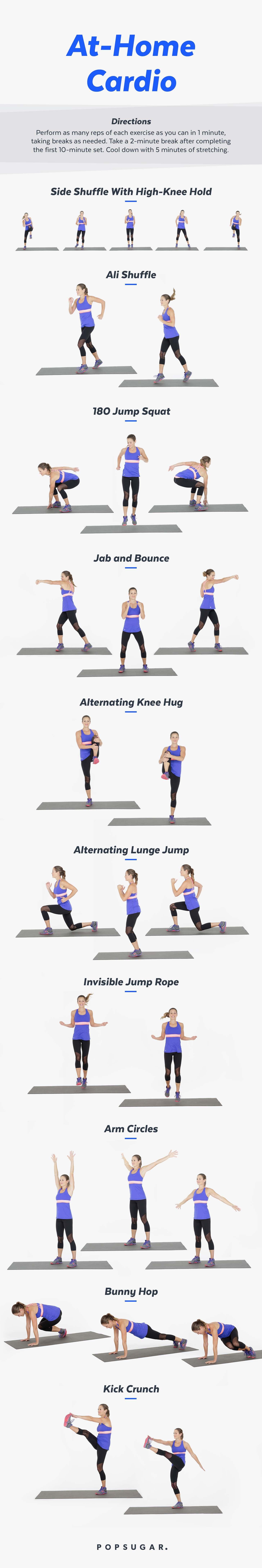 No-Run Cardio Workout | Video | POPSUGAR Fitness