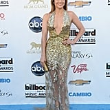 On the Red Carpet For the Billboard Music Awards in Las Vegas in May 2013