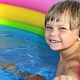 Preserve the kiddie pool overnight.