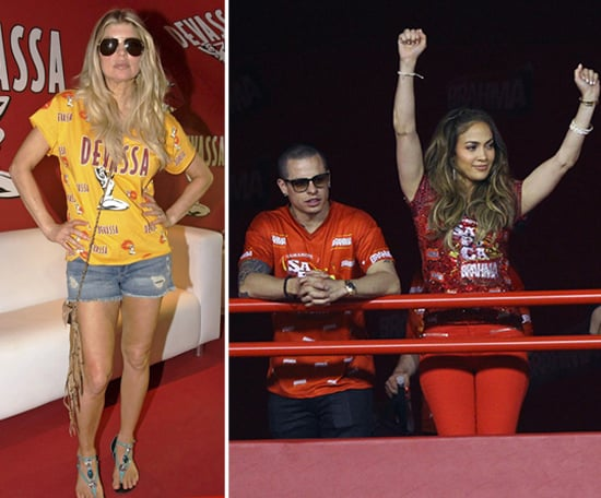 J Lo and Fergie Get the VIP Treatment at Rio's Carnival Celebration