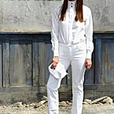 Caroline de Maigret at the Chanel couture show.