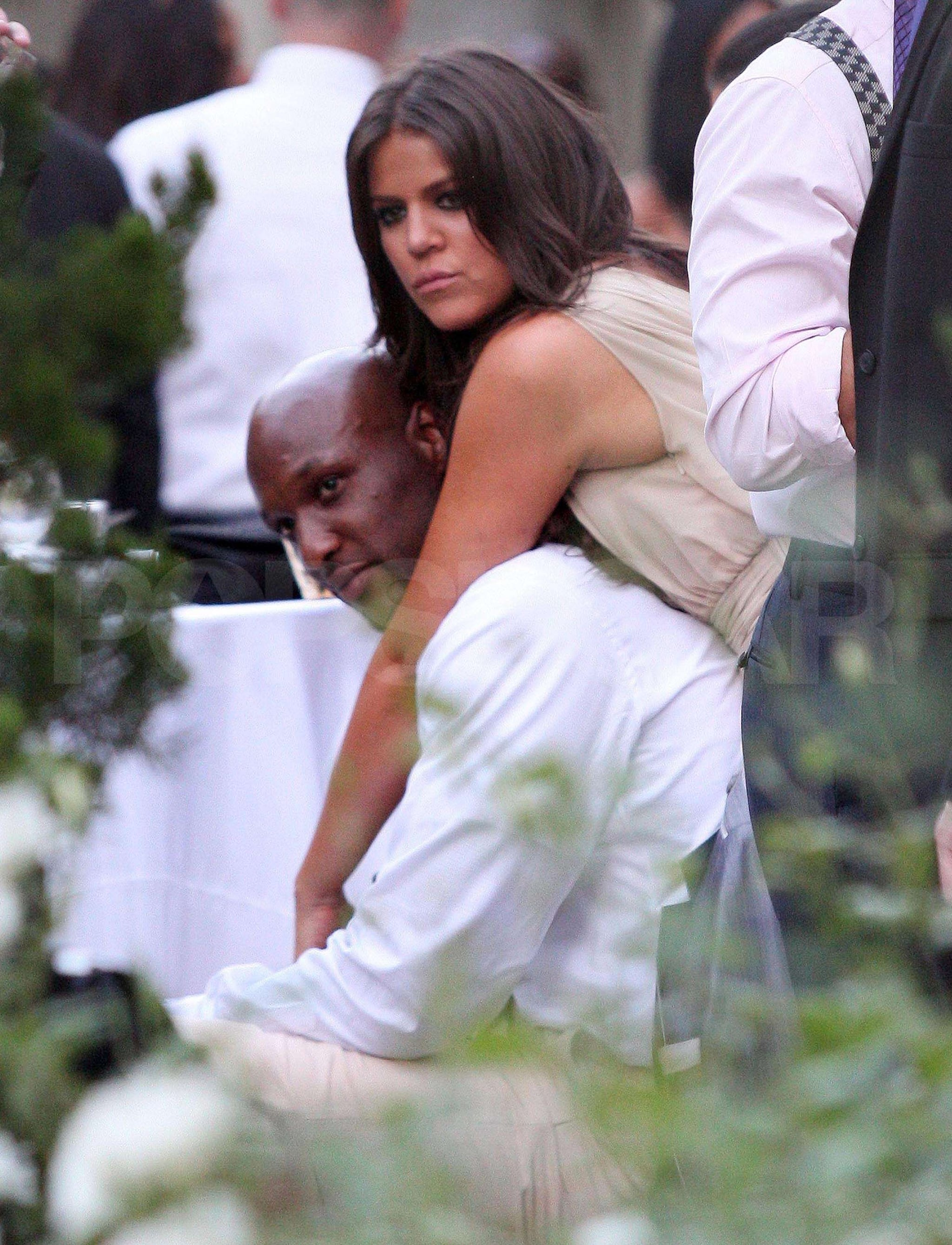 Pictures of kim kardashian and ex reggie bush at a wedding image ombrellifo Image collections