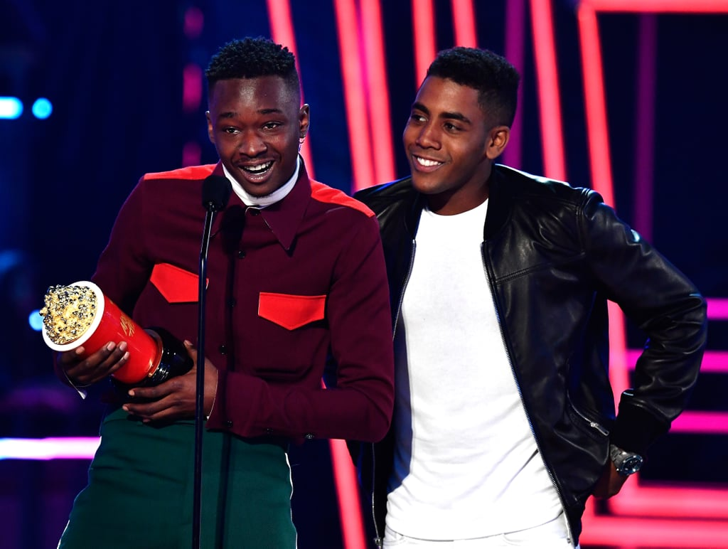Ashton Sanders and Jharrel Jerome