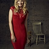 Candice Accola as Caroline on season four of The Vampire Diaries.