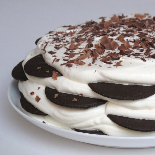 Old-Fashioned Icebox Cake