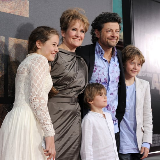 Andy Serkis With Wife and Family Pictures