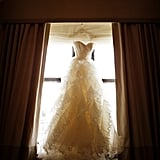 Please check out my wedding gown story below. Warning: it gets a tad sappy in places . . .