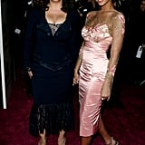 Tina and Beyoncé turned heads at The Pink Panther movie premiere in New York City in 2006.